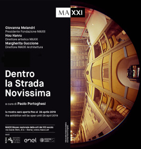 Dentro la strada Novissima_Opening nero