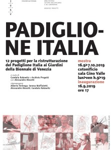 Manifesto Padiglione Italia